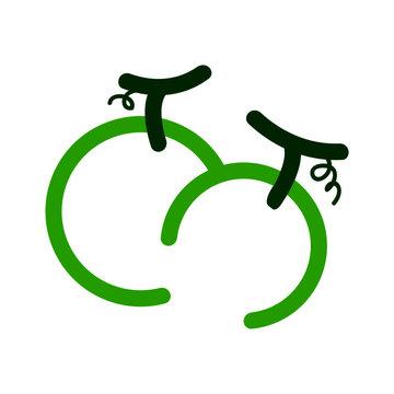Vector Illustration Melon Company Logo design