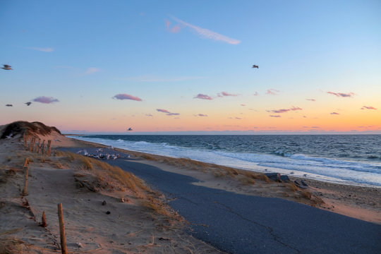 Sunset at the Beach - Cape Cod Rhode Island