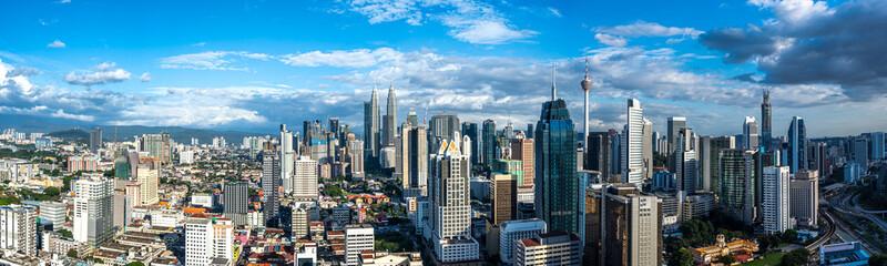 Canvas Prints Kuala Lumpur city skyline