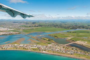 Decent onto Napier Airport New Zealand