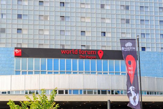 Netherlands, The Hague - July 1, 2019: World Forum The Hague