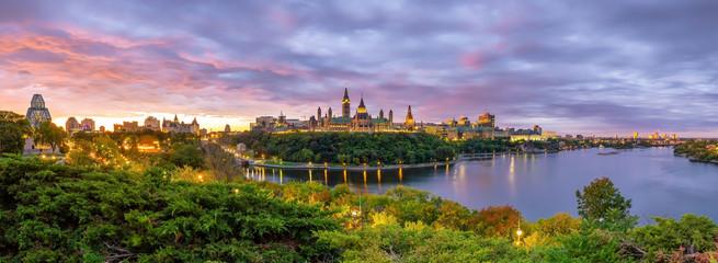 Poster Canada Parliament Hill in Ottawa, Ontario, Canada