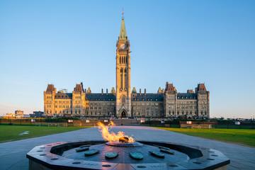 Autocollant pour porte Canada Parliament Hill in Ottawa, Ontario, Canada