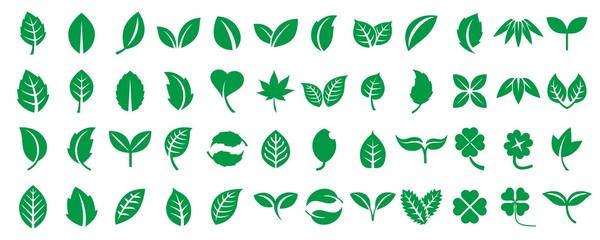 葉っぱアイコンセット