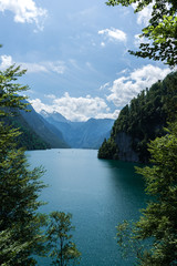King's Lake bavaria from above
