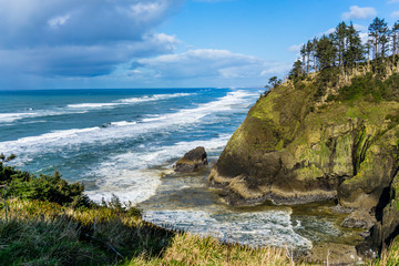 Cape Disappointment Waves 3 Wall mural
