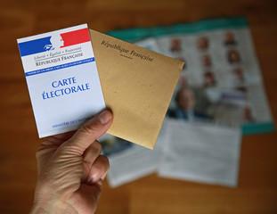 Carte électorale pour élection française
