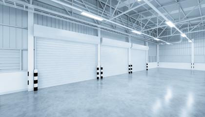 shutter door warehouse Fototapete