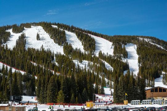 Eldora Mountain Ski Area in the Colorado Rocky Mountains