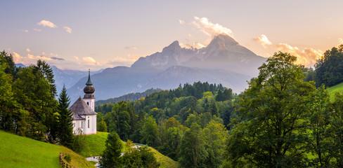 Kirche Maria Gern in Bayern Fototapete