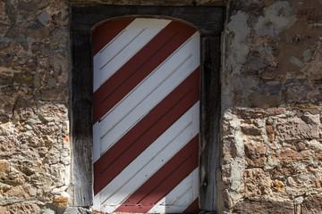 historic medieval door