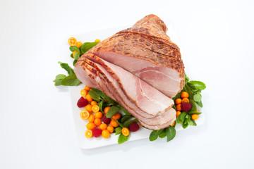 Holiday Roasted Sliced Ham
