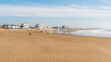 Grande plage de Saint Gilles Croix de Vie Fototapete