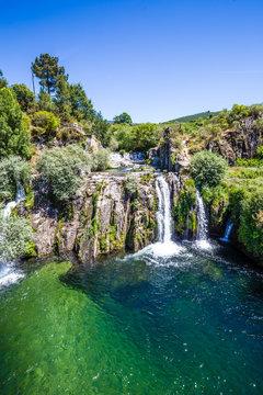Poco da Broca Waterfall - Sierra Estrella,Portugal