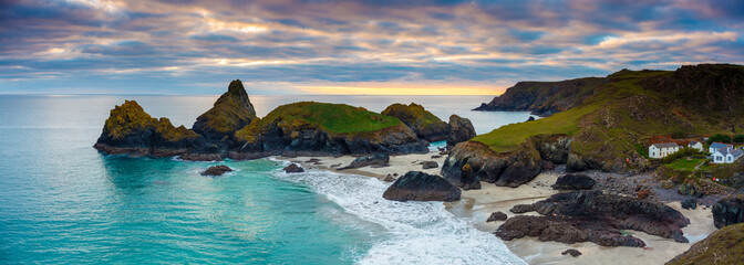 Wall Mural - Sunset Kynance Cove Cornwall England UK
