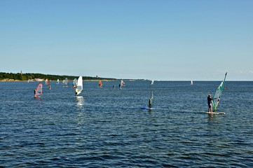 Nauka windsurfingu  Jurata, Polska