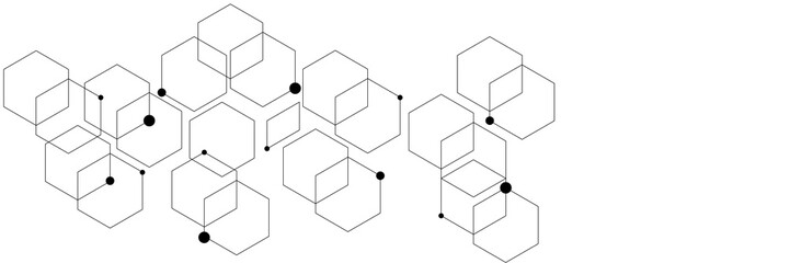 Abstract background consisting of set of hexagonal cells.
