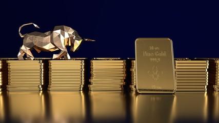 Fototapete - Boom beim Goldpreis