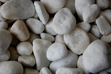 Photo sur Plexiglas Zen pierres a sable pierres blanches