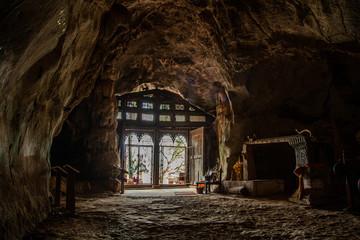 Pak Ou Caves, Luang Prabang, Laos Wall mural