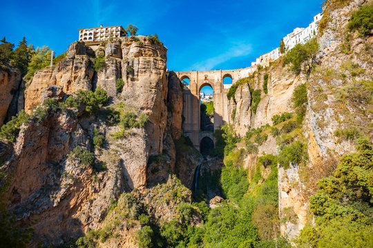 townscape of Ronda