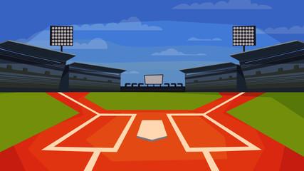 Baseball stadium - Background