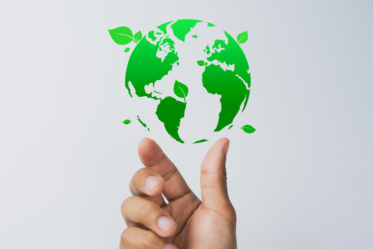 Corporate Social Responsibility(CSR), eco-friendly business and environmental concepts.