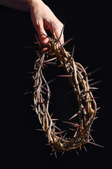 Hand and Crown Of Thorns