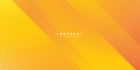 Abstract orange gradient geometric shape background with dynamic box rectangle modern corporate concept