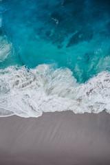 Poster Mer / Ocean grey beach