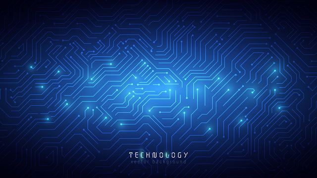 blue abstract technology cyberspace background,speed data transfer background,blue abstract circuit system technology background