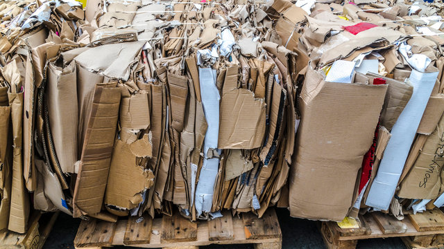 Pressed Cardboard Box