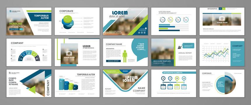 Corporate slideshow templates