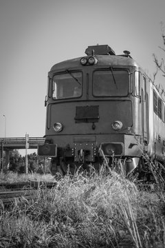 Romanian CFR Class 60 Diesel Electric Locomotive Closeup