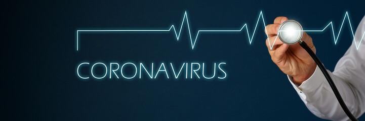 Coronavirus conceptual image