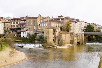 Mont-de-Marsan capital of the Landes department in Nouvelle-Aquitaine in southwestern France Fototapete