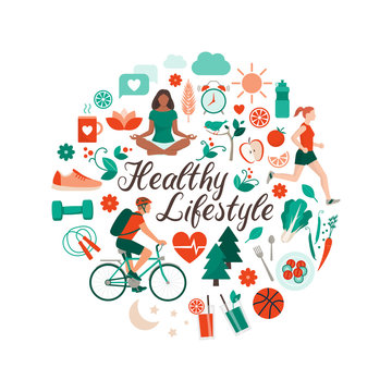 Healthy lifestyle and self-care concept