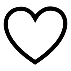 Heart icon and love symbol. illustration icons.