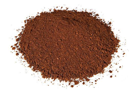 Chaga Mushroom Powder isolated - Natural Minerals