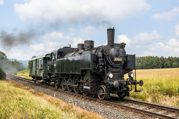 Czech operating steam locomotives on Czech railways