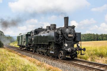 Czech operating steam locomotives on Czech railways