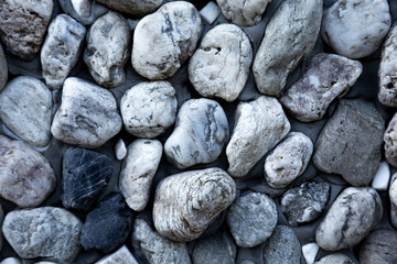 Photo sur Plexiglas Zen pierres a sable abstract background with dry round pebble stones