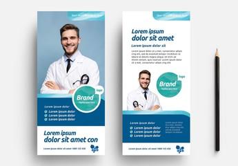 Medical Rack Card Layout
