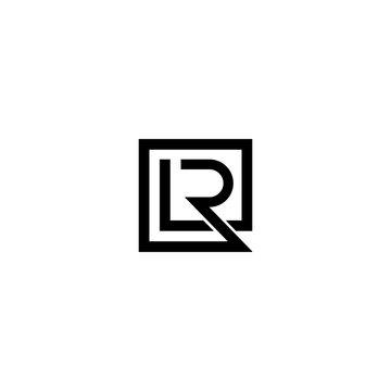LR RL L R Letter Initial Logo Design
