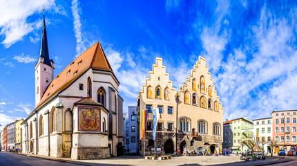 old town of wasserburg am inn - bavaria Fototapete