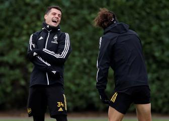 Europa League - Arsenal Training