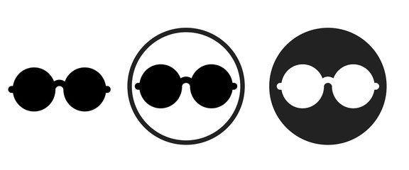 glasses icon . web icon set .vector illustration