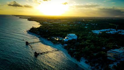 Spoed Fotobehang Oceanië Mexican Shore