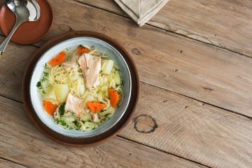 Fotobehang - Chicken Soup