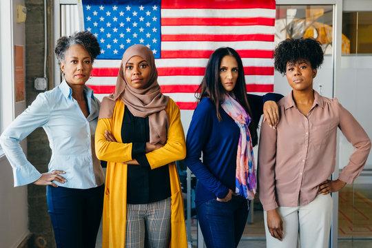 Diverse Portraits of American Citizens